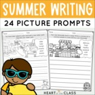 Summer Writing {Picture Prompts}