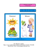 Summer or Winter!  (Classifying) Science