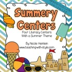 Summery Centers {Common Core Aligned}