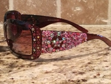 Sunglasses-Brown-Pink Star