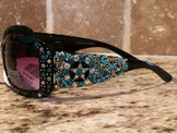 Sunglasses-Star with Turquoise