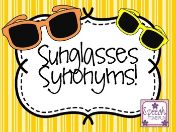 Sunglasses Synonyms!