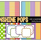 Sunshine Pops Set {Commerical Graphics}