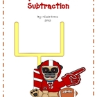 Super Bowl Math - Subtraction