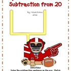 Super Bowl Subtraction: Subtraction from 20