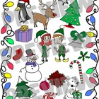Super Christmas Clip Art Set