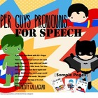 Super Guys Pronouns Mini Book