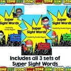 Super Hero Sight Words Bundle