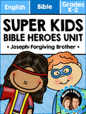 Super Kids Bible Heroes Unit - Joseph (English)