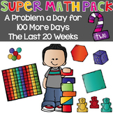 Super Math Pack 2: A Problem a Day for the last 100 days {