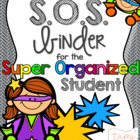 Super Organized Student Binder {EDITABLE!}