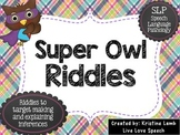 Super Owl Riddles