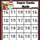 Super Santa Math Addition Freebie