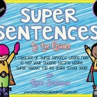 Super Sentences! Year Long Writing Pack
