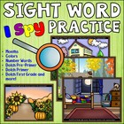 Super Sight Word Practice! {Magnifying Glass} Pictures and