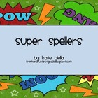 Super Spellers Task Cards