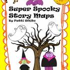 Super Spooky Story Maps Freebie