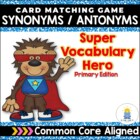 Super Vocabulary Hero: A Vocabulary Journal