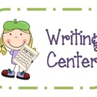 Super Writing Center Pack: Creative, Poetry, Games, & Worksheets
