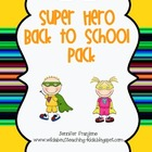 Superhero Back to School Pack