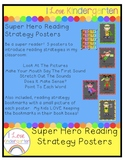 Superhero Reading Strategy Posters
