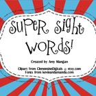 Superhero Sight Words!  Interactive Smartboard Activity