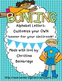 Superhero Themed Buntings- Customize Your Own Banner!
