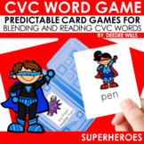 Superheroes CVC Memory Match and Gotcha! Game