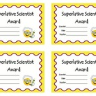 Superlative Scientist Award
