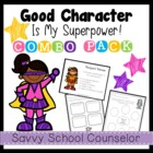 Superpower Character Trait COMBO Pack- Savvy School Counselor