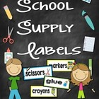 Supply Labels Freebie