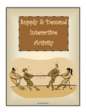 Supply and Demand Interactive Activity