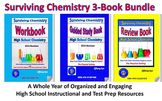 Surviving Chemistry 3-Book Bundle: A Whole Year of HS Inst