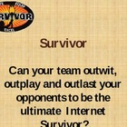 Survivor: Internet Edition