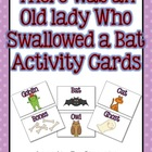 Swallowed a Bat Activity Cards