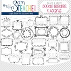 Sweet Doodles: Frames, Borders, Lines & Accents