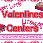 Sweet Little Valentines Literacy Centers