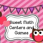 Sweet Math Centers and Games