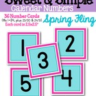 Sweet & Simple Calendar Numbers {Spring Fling}