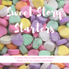 Sweet Story Starters - A Creative Writing Lesson Plan