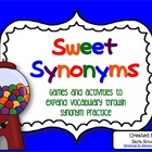 Sweet, Sweet Synonyms!