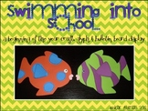 Swimming into school! {glyph and bulletin board display!}