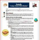 Swindle Facebook Reading Comprehension Activity Common Core