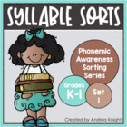 Syllable Sorts {Phonemic Awareness Sorting Series, Set #1}