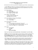 Syllabus-11th grade English Language Arts