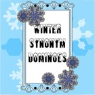 Synonym Dominoes - Winter Theme