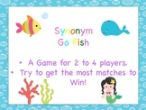 Synonym Go Fish!- Mermaid and Friends
