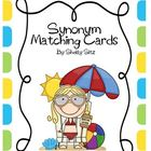 Synonym Matching Cards-Ocean Theme