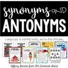 Synonym and Antonym Mega Pack