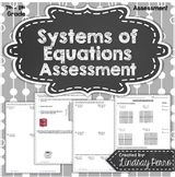 Systems of Equations Assessment
